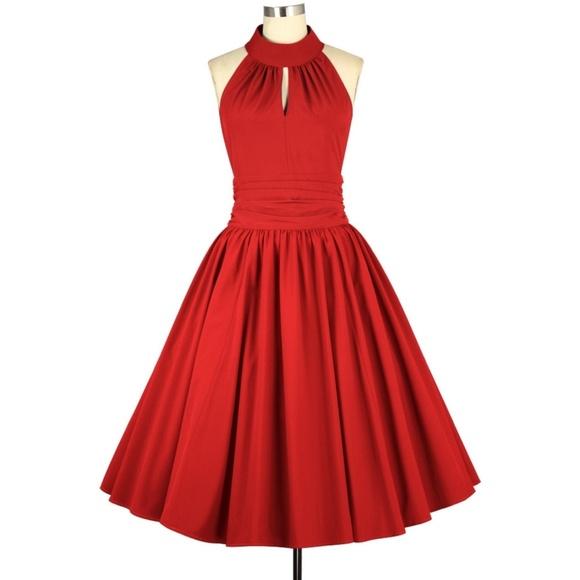 Dresses & Skirts - Plus Size Pin Up Swing Dance Full Circle Dress
